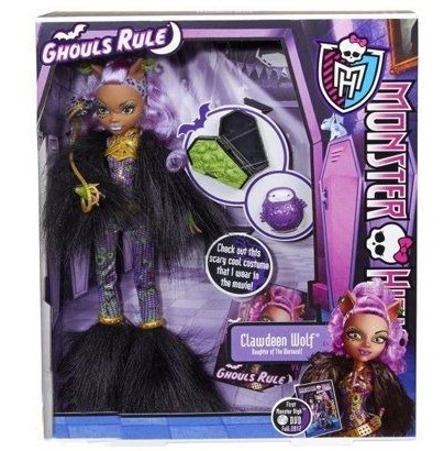 Monster High Clawdeen Wolf Ghouls Rule X
