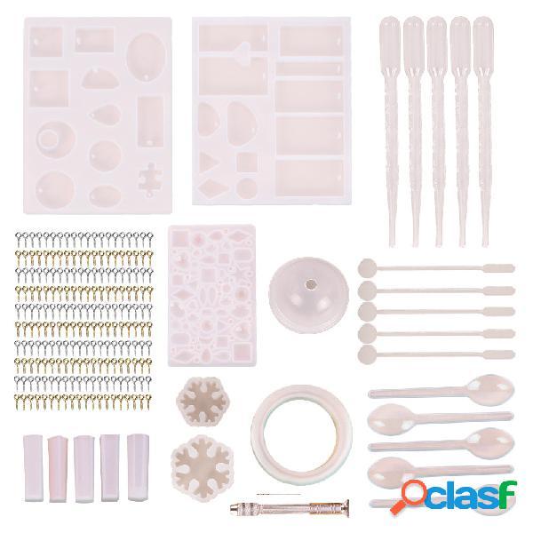 127Pcs Moldes de fundición de joyas herramientas Set