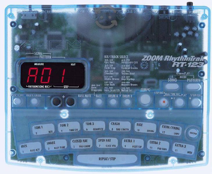 Caja de ritmos Zoom RT-123