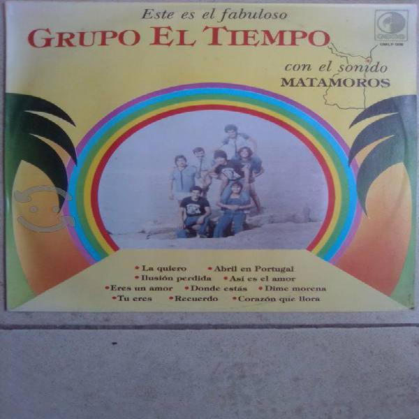 """GRUPO EL TIEMPO """"CON EL SONIDO MATAMOROS"""" P1984"""