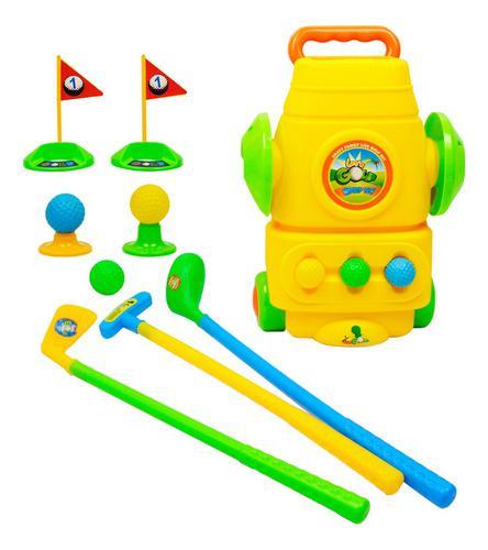 Juego De Palos De Golf Para Niños (9 Piezas), Jardín Al Ai