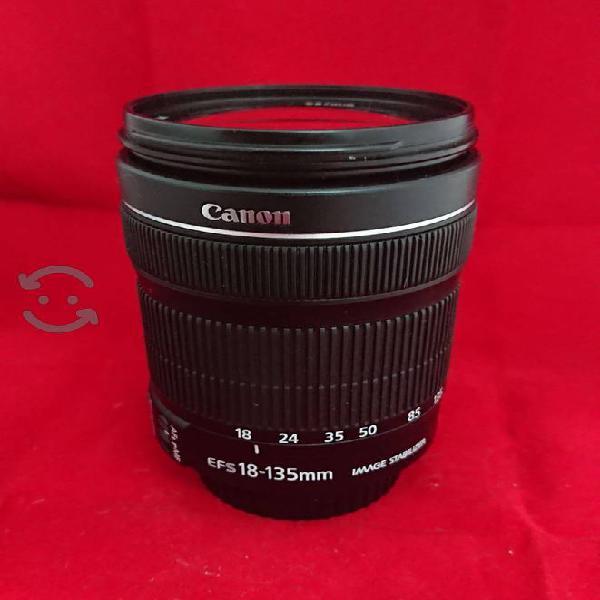 Lente Canon 18 135