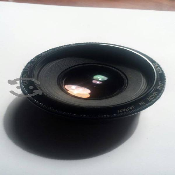 Lente canon ef 50mm 1.8