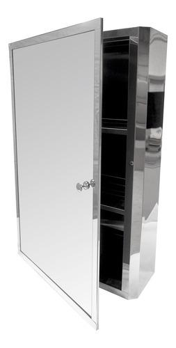 Lux Sany 6010a Gabinete De Baño Con Puerta Y Espejo Tocador