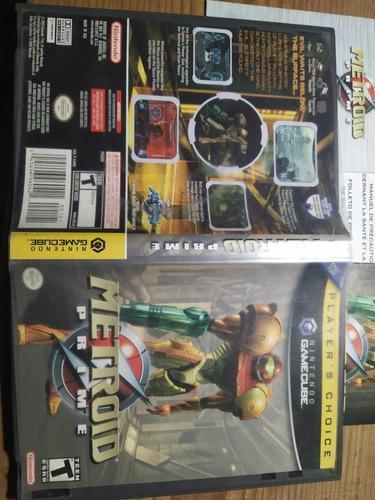 Metroid Prime Nintendo Gamecube + Paquete De Otros Juegos