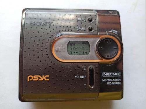 Minidisc Net Md Walkman Mz-dn430 Sony