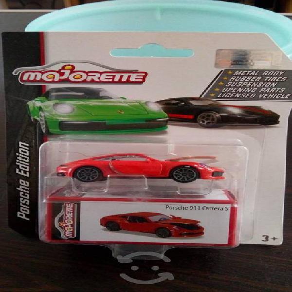 Porsche carrera majorette llantas de goma