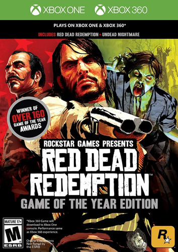 ..:: Red Dead Redemption Y Undead::.. X Box One Y X Box 360