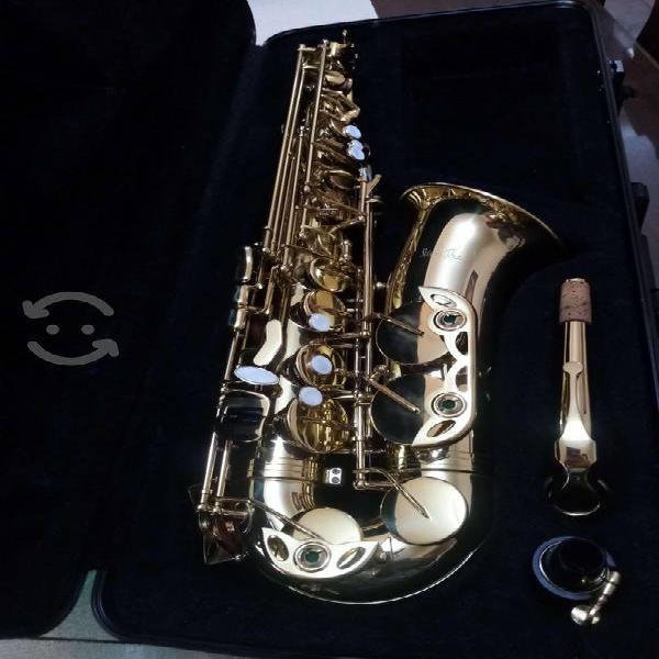 Saxofón alto Silvertone nuevo