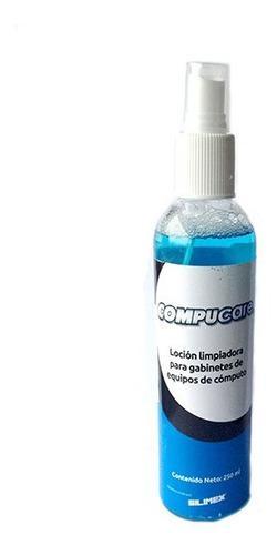 Silimex Compucare, Locion Limpiadora 250 Ml P/gabinetes Y Us
