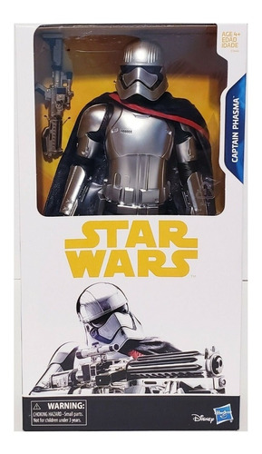 Star Wars Capitan Phasma De Hasbro 30cm