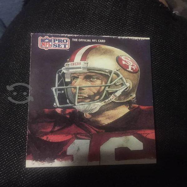 Tarjetas coleccion Joe Montana NFL Pro set 1991