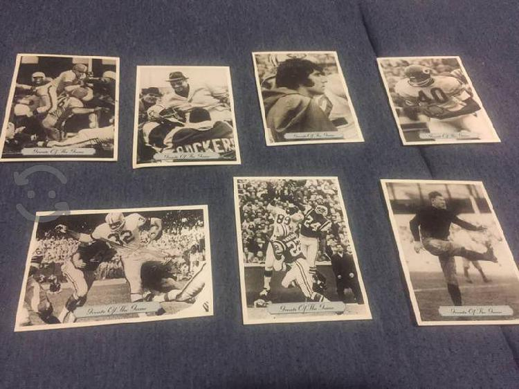 Tarjetas coleccionables NFL greats of the game 199
