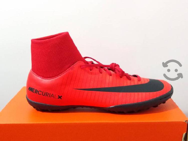 Tenis Para Fútbol Nike Mercurialx Victory Talla 27