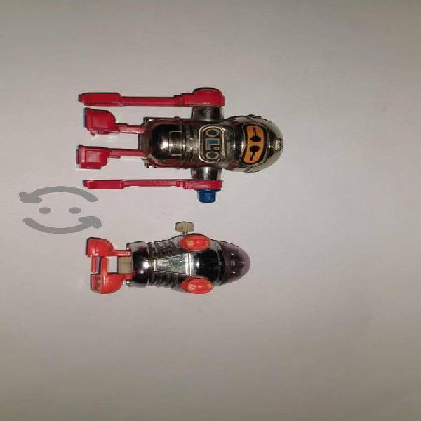 Tomy acrobot mini robots taiwan año 1977 y 1979