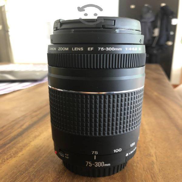 Vendo Lente Zoom Canon 75-3000 mm