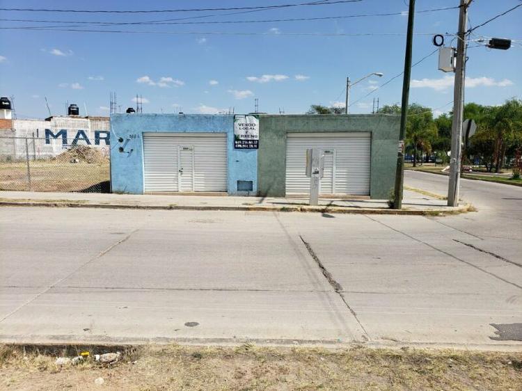 Venta de Locales Comerciales en Aguascalientes y terreno