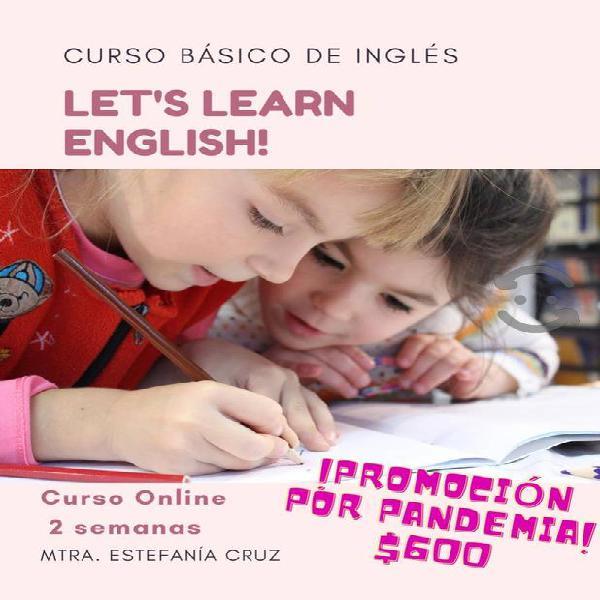 curso básico de inglés en línea