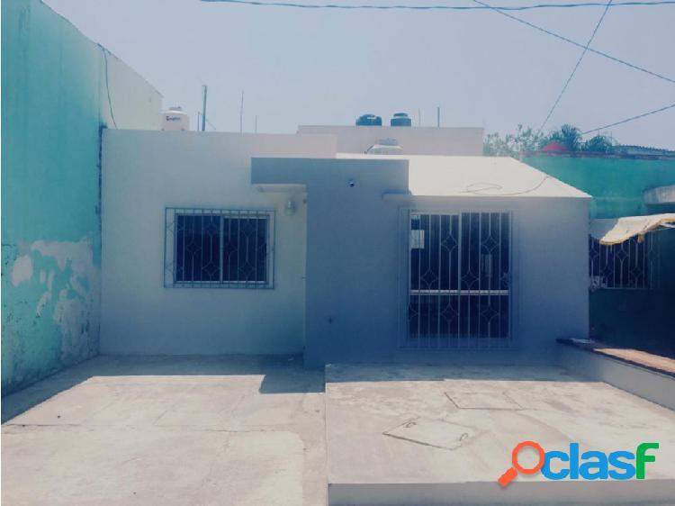 Casa en venta en Col. Carranza Boca del Rio, Veracruz