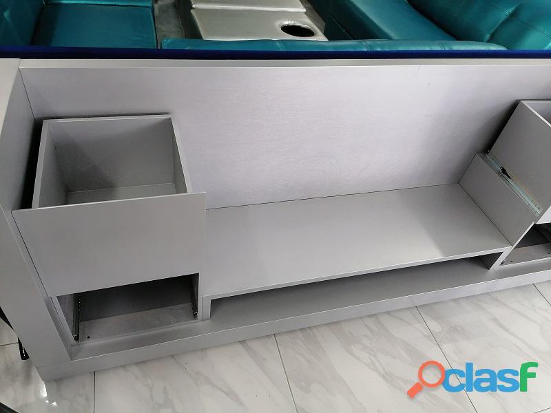 En venta mueble para tv color gris