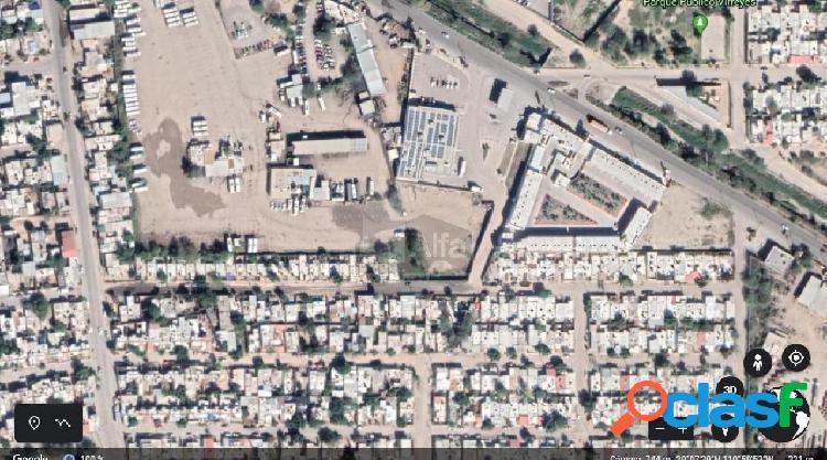 Terreno comercial en venta en Mártires de Cananea,