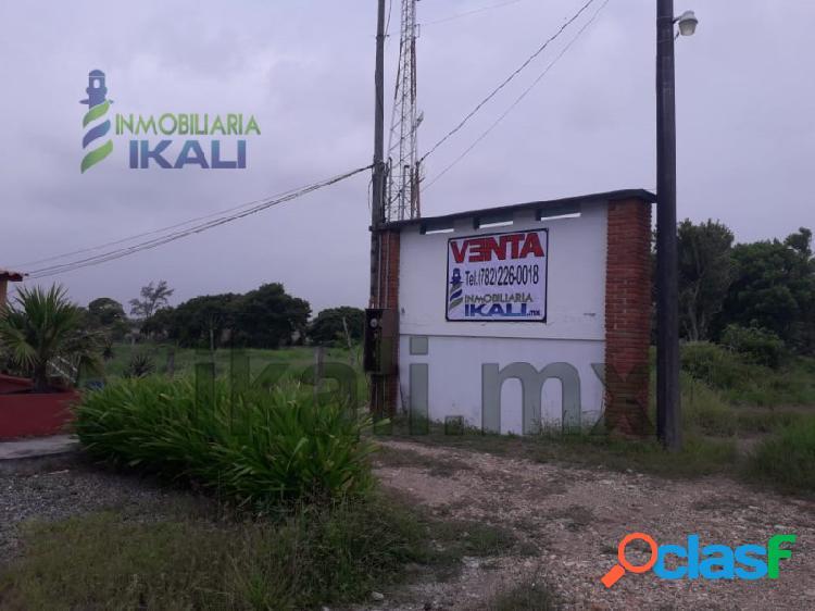 Venta terrenos 300 m² Playa paraiso Tecolutla Veracruz,