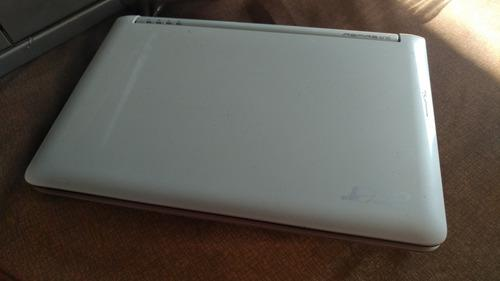 Bonita Laptop Acer Aspire One Zg5 Blanca