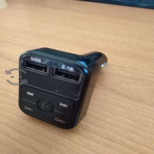 Manos libres bluetooth con USB para mp3