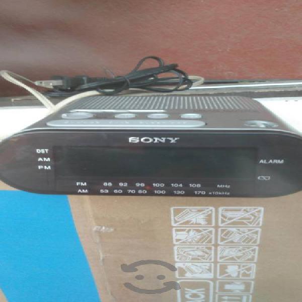 Radio Reloj despertador marcá Sony