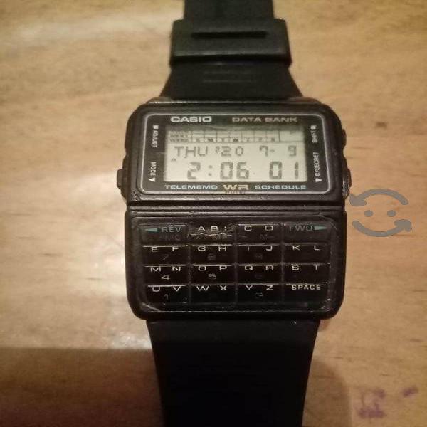Reloj Casio DBC-610 Vintage primer modelo databank