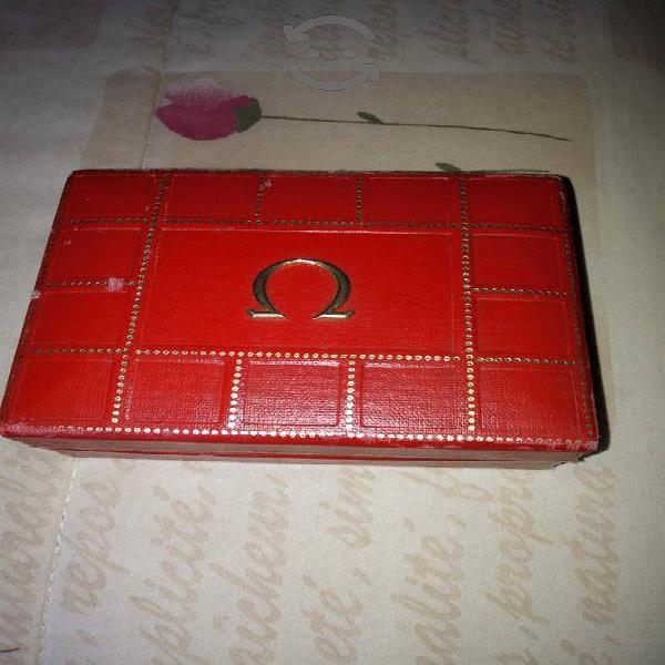 Reloj Omega Estuche caja original completa conserv