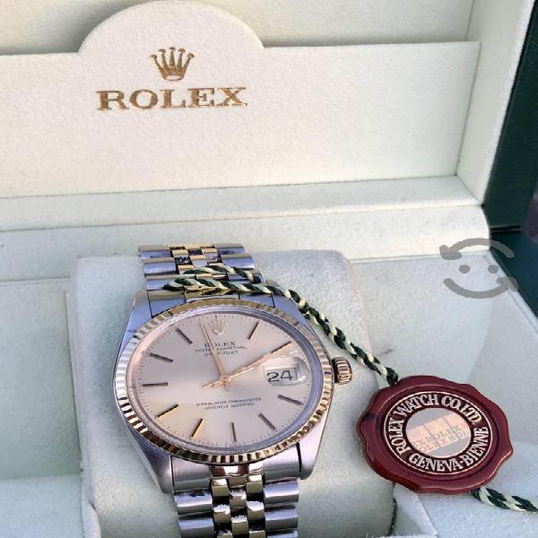 Reloj Rolex Datejus acero y oro 16013 cambio rapid