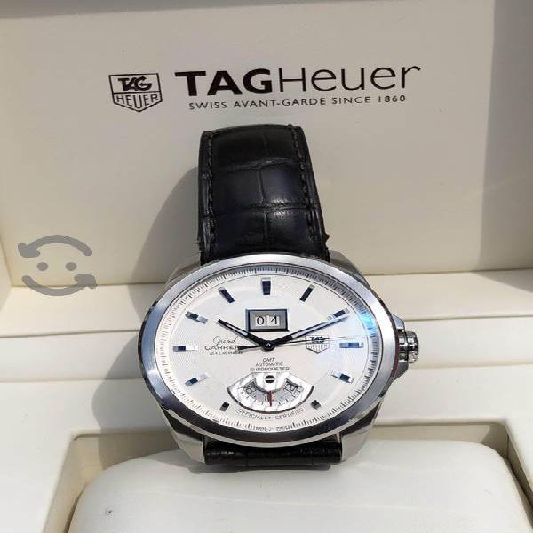 Reloj Tag Heuer carrera GMT Automátic zafiro