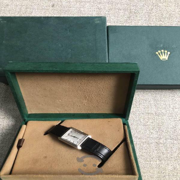 Rolex cellini calibre 1601 de cuerda caja de acero