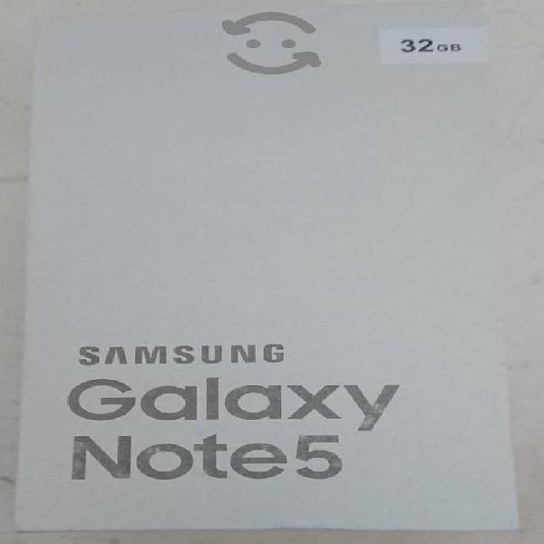 Vendo Samsung Galaxy Note 5 de 32gb de ram