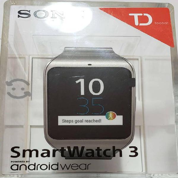 smart watch 3 Sony nuevos GPS NFC Wifi Bluetooth