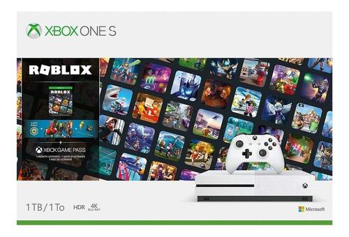 Consola Microsoft Xbox One S 1tb + Roblox