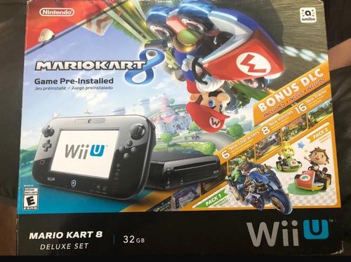 Consola Wii U Edición Mario Kart 8 Deluxe
