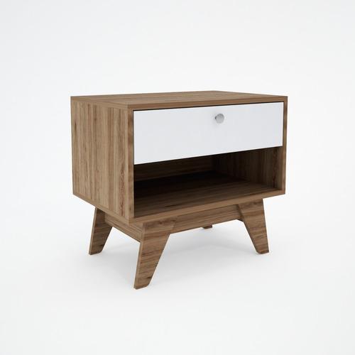 Mueble Buro Con 1 Cajon, Ideal Para Recamara Y Sala Rubu1c