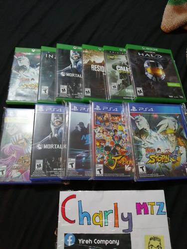 11 Juegos Pará Xbox One Y Ps4 Halo Caballeros Naruto
