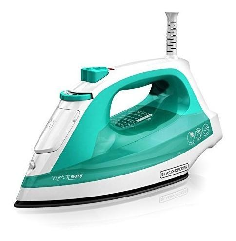 Blackdecker Light N Easy Plancha De Vapor Compacta Turquesa