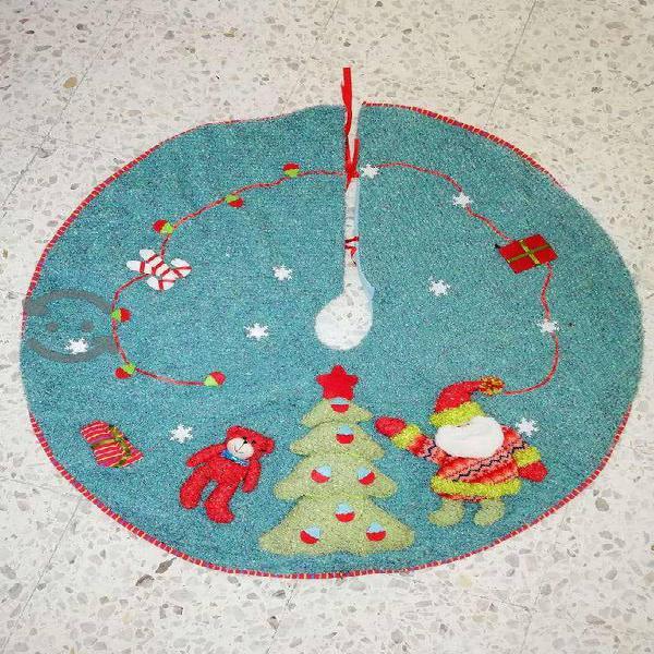 Falda/Pie de árbol navideño 59 cm de diámetro