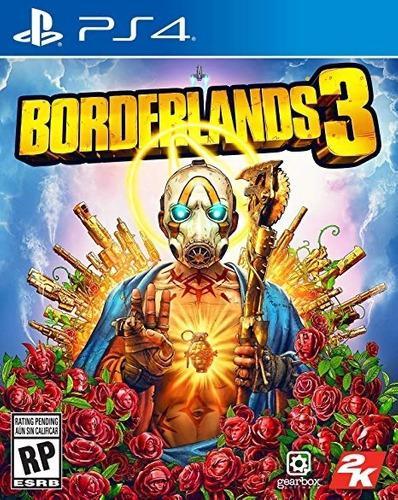 Juego Borderlands 3 Launch Para Ps4 Standard Edition Sellado