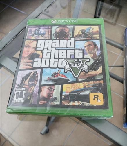 Juego Grand Theft Auto V Para Xbox One Y Para Ps4