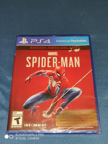 Marvel Spider-man Ps4 Juego Del Año (game Of The Year)