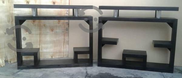 Mueble tv de madera solida