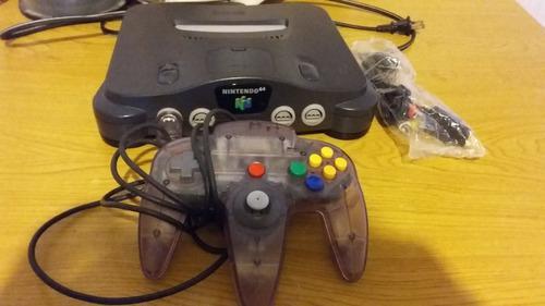 Nintendo 64 Con 1 Juego A Elegir(mario 64, Party Y Ocarina)