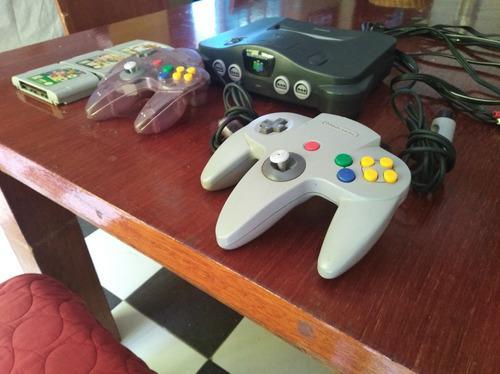 Nintendo 64, Con Dos Controles Y Tres Juegos