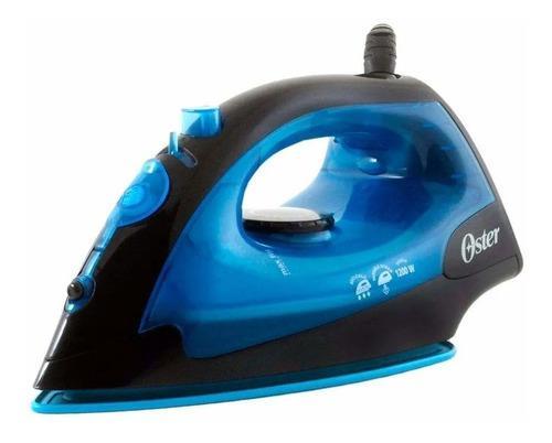 Plancha De Vapor Oster Gcstbs4801 Suela Antiadherente Azul