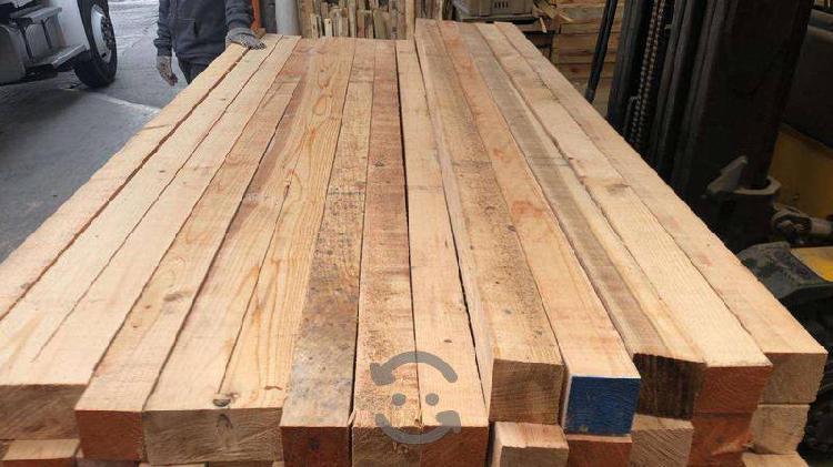 Polines y tablas para construccion